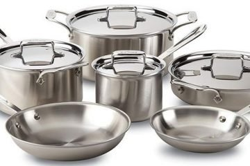 All-Clad D5 Stainless Steel Cookware Set