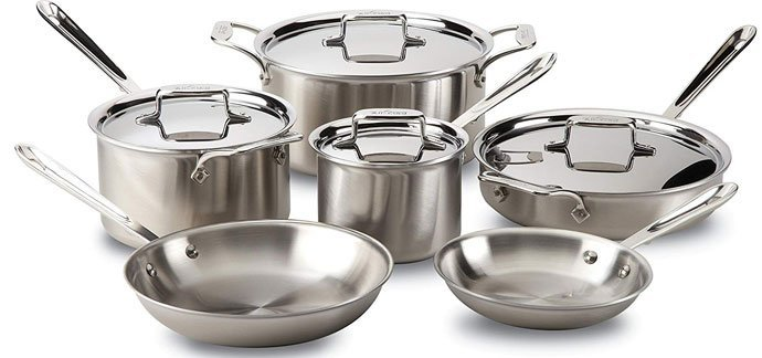 All-Clad D5 Stainless Steel Cookware Set Reviews