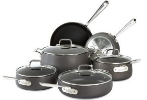 All-Clad E785SC64 Ha1 Cookware Set