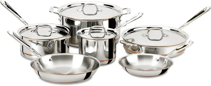 All-Clad Copper Core Cookware Set