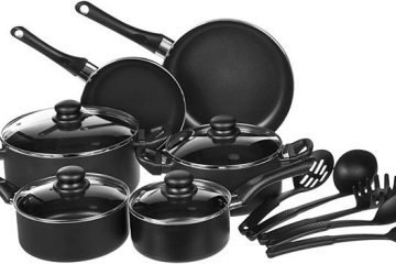 AmazonBasics 15-Piece Non-Stick Cookware Set Review