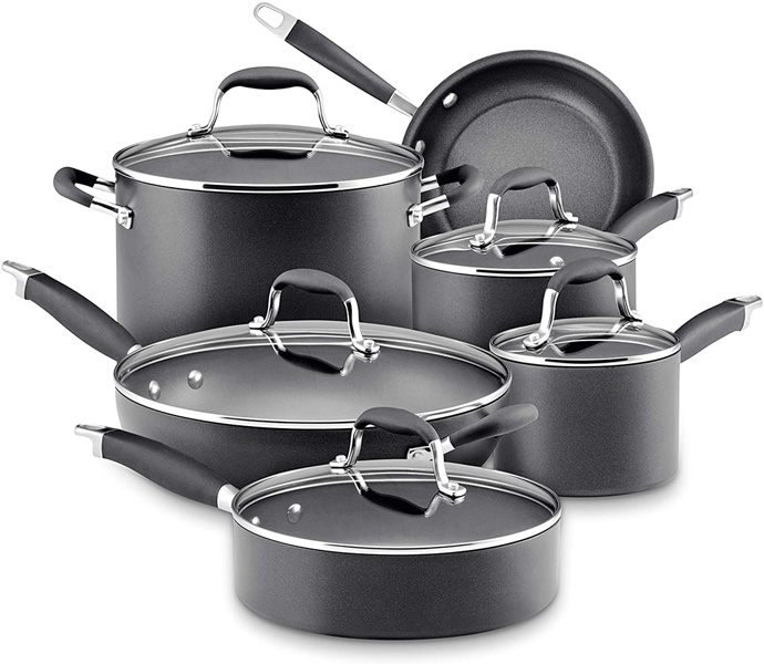 Anolon Advanced Hard Anodized Nonstick Cookware Set Review