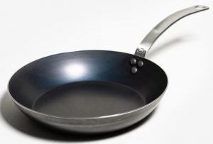 "10"" Blue Carbon Steel Frying Pan"