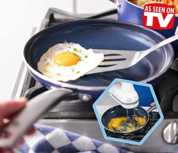 Blue Diamond Cookware Set