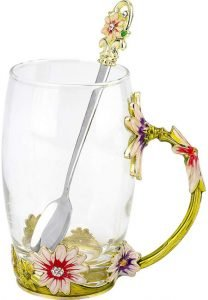 COAWG Glass Tea Cup