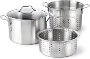Calphalon Classic Stainless Steel 8-quart Stock Pot