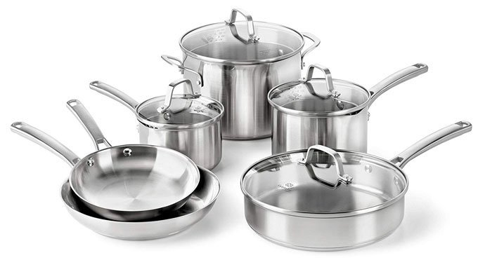 Calphalon Classic Stainless Steel Cookware Set Reviews
