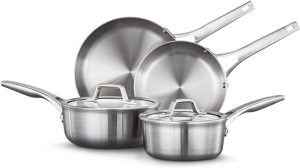 Calphalon Premier Stainless Steel 11-Piece Cookware Set, Black Friday Deals on Pots and Pans