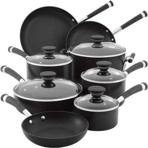Circulon Acclaim Hard Anodized Nonstick Cookware Pots and Pans Set