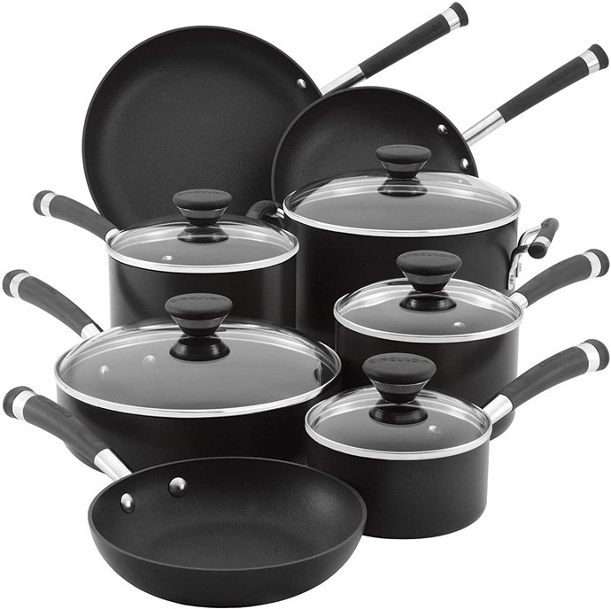 Circulon Acclaim Hard Anodized Nonstick Cookware