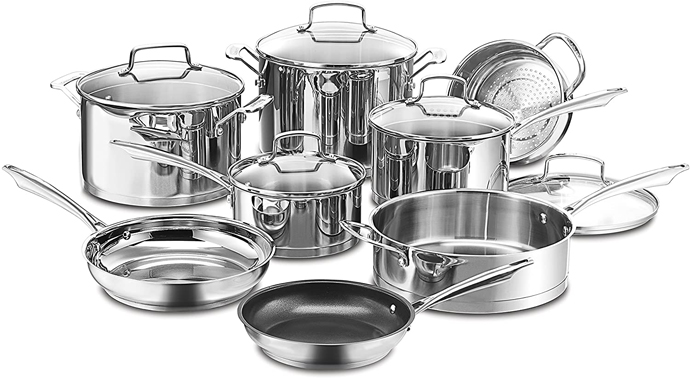 Best Cuisinart Cookware Set Reviews