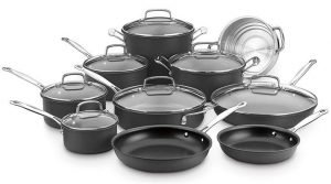 Cuisinart 66-17N Chef's Classic Non-Stick Hard Anodized Set