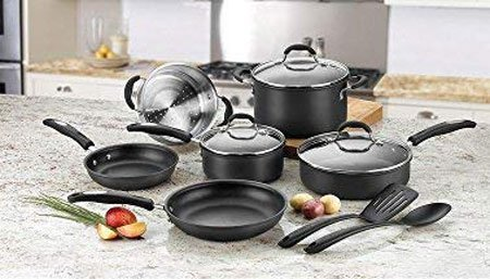 Cuisinart 66-17N Chef's Hard Anodized Set