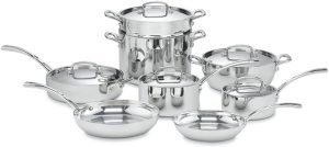 Cuisinart French Classic Tri-Ply Cookware Set
