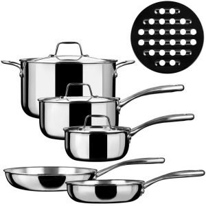 Duxtop SSC-9PC - Best Cookware for Gas Range