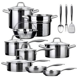 Duxtop SSIB-17 Professional Stainless Steel Induction Cookware Set