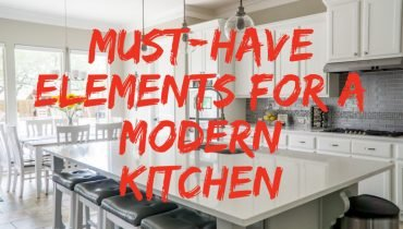Must-Have Elements for a Modern Kitchen
