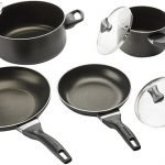 Farberware Dishwasher Safe Nonstick Cookware Pots and Pans Set