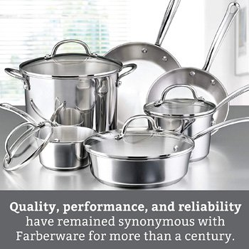 Farberware Stainless Steel Cookware Reviews