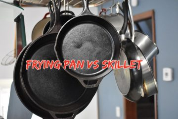 Frying Pan Vs Skillet