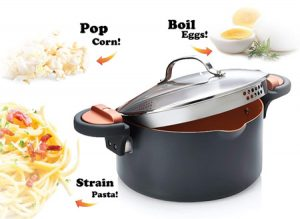 Pasta Pot with Multiple Cooking Features
