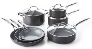 GreenPan CC000675-001 Valencia Pro Hard Anodized Ceramic Cookware