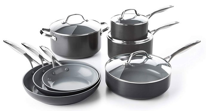 GreenPan Valencia Pro Hard Anodized Ceramic Cookware