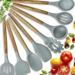 Home Hero 8 Pieces Silicone Cooking Utensils Set