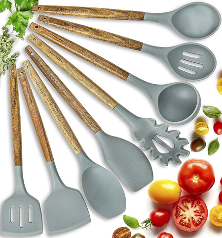 Home Hero Silicone Cooking Utensils Set