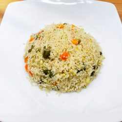 Egg Fried Rice in Rice Cooker