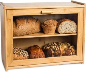 Laura's Green Kitchen Large Bread Box