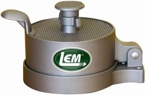 LEM Non-Stick Adjustable Burger Press