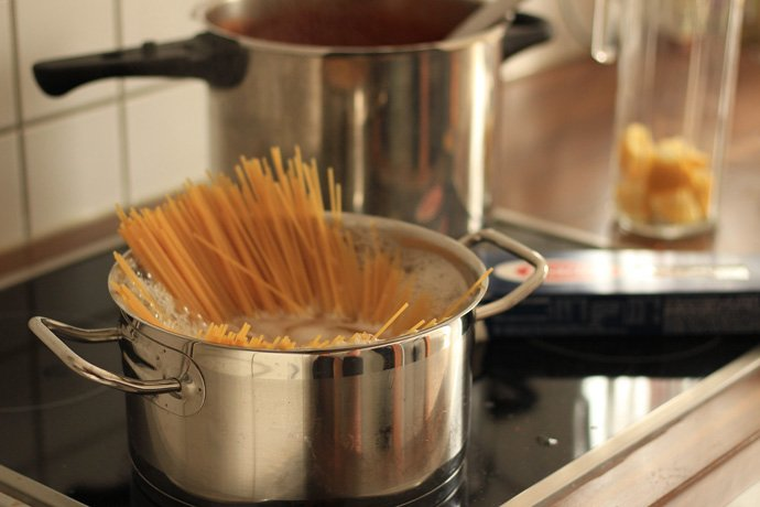 Use a Large Pot to Cook Pasta