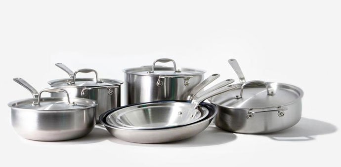 Made in Stainless Steel Cookware Set