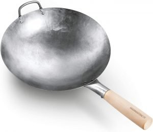 Mammafong Authentic Hand Hammered Wok