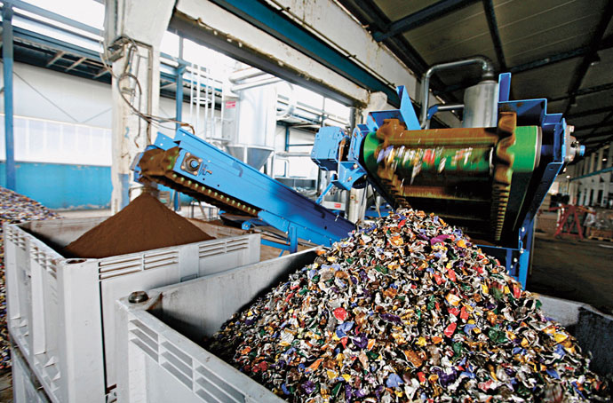 Contact with your Local Scrap Metal Recycling Centre