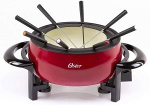 Oster Titanium Infused DuraCeramic Best Cheese Fondue Pot