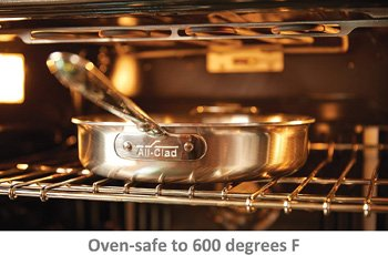 All-Clad D5 Stainless Steel Cookware