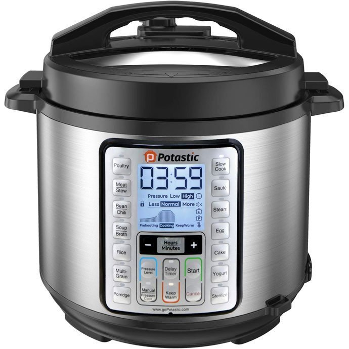 Potastic EP6 10-in-1 Electric Cooker