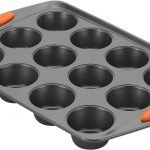 Rachael Ray 54075 Yum -o! Nonstick Bakeware 12-Cup Muffin Tin