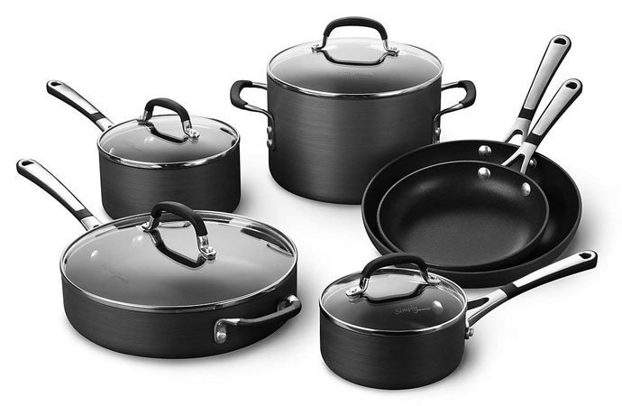 Simply Calphalon Nonstick Cookware Set