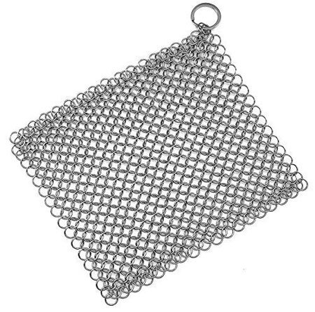 Stainless Steel Cast Iron Skillet Cleaner