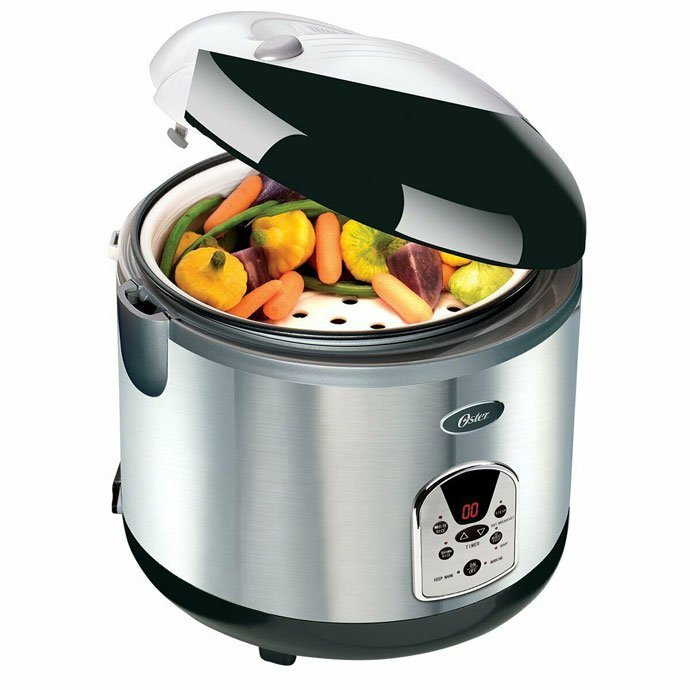 Steaming Vegetables in Oster Rice Cooker