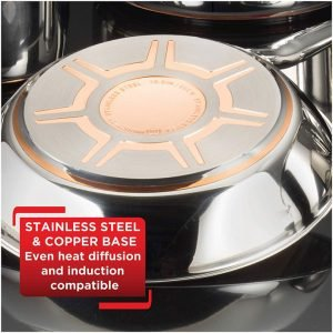 T-Fal Cookware Set with Sturdy Construction