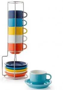 Sweese 404.002 Porcelain Stackable Espresso Cups