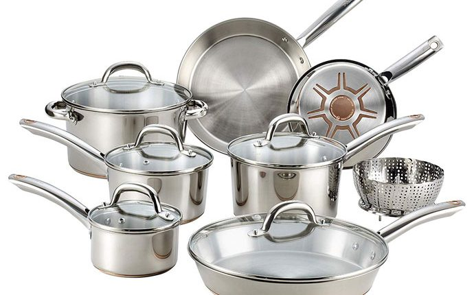 T-fal Stainless Steel Cookware Set