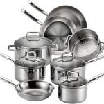 T-Fal Tri-Ply Multi-Clad Stainless Steel Cookware