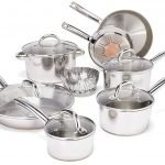 T-fal Stainless Steel Cookware Set (C836SD)