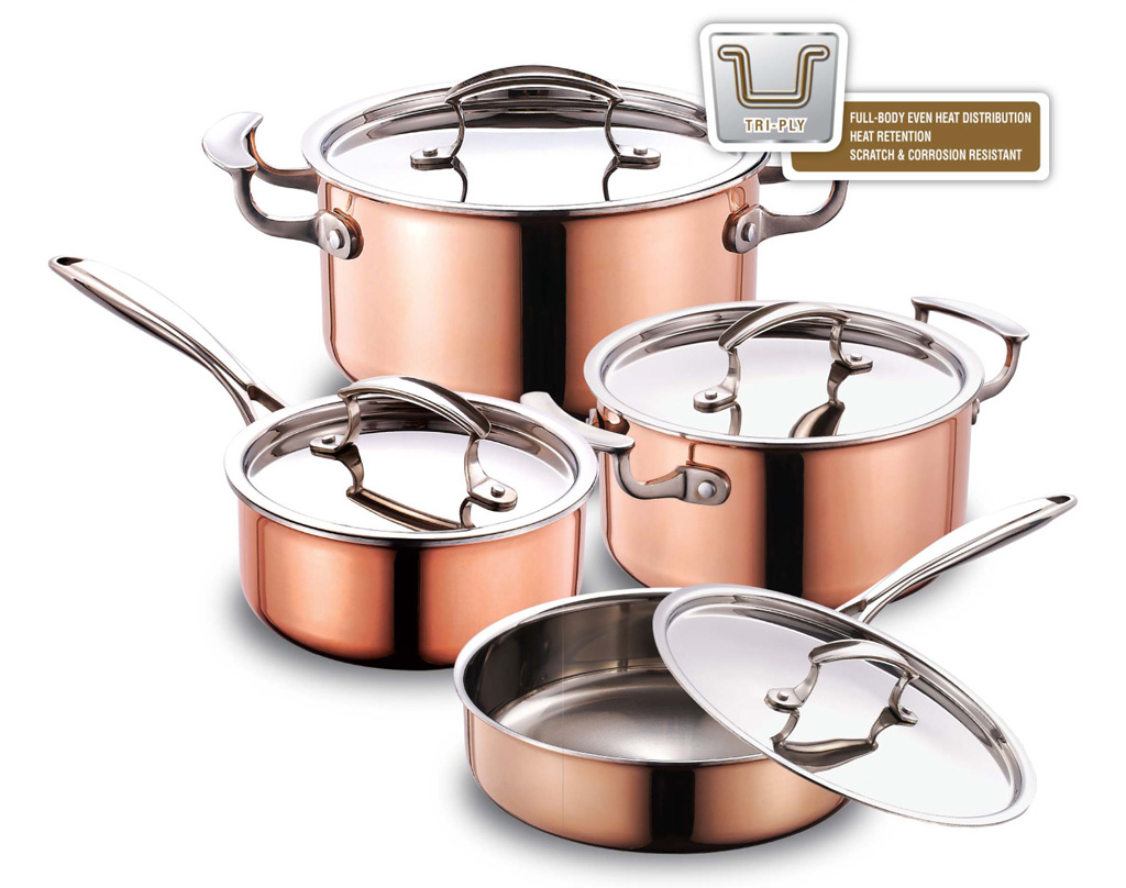 best tri ply cookware