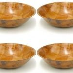 Winco WWB-10 Wooden Woven Salad Bowl